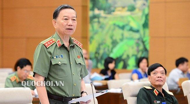 Bo truong Cong an To Lam tra loi chat van phong chong toi pham hinh anh 3