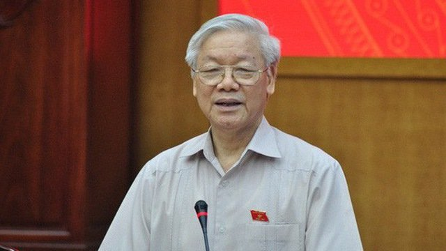 Tong Bi thu: 'Khong nen noi Tong Bi thu kiem Chu tich nuoc, cung khong phai nhat the hoa' hinh anh 1