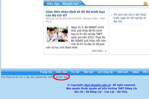 Thay giao bi to danh nu sinh, website truong hoc dinh link 'doc' hinh anh 4