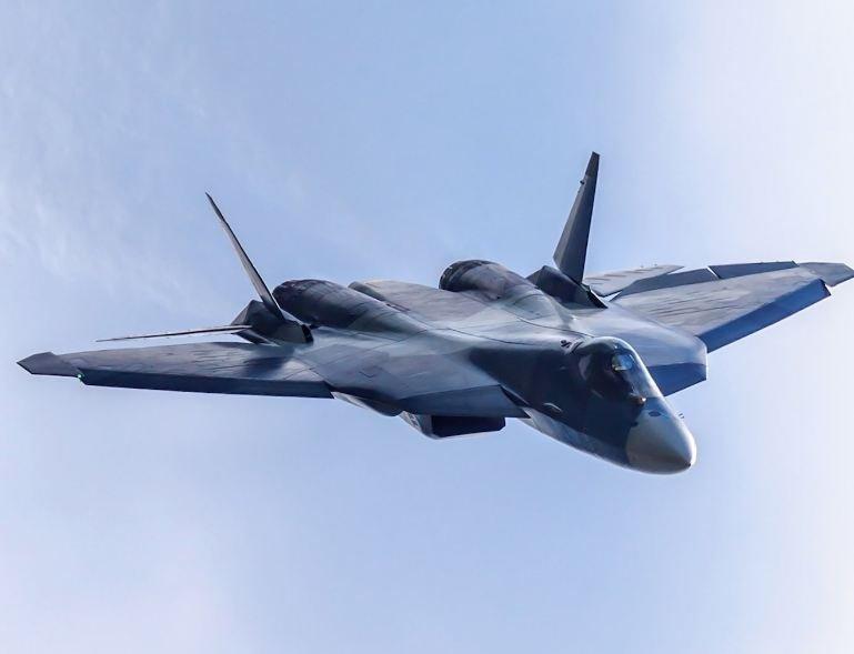 Can canh chien co tang hinh Su-57 toi tan cua Khong quan Nga hinh anh 1