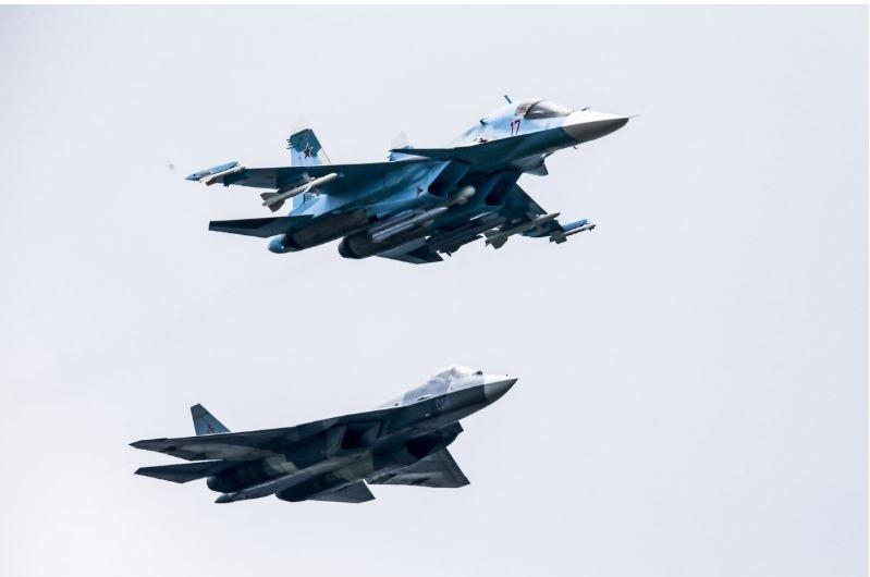 Can canh chien co tang hinh Su-57 toi tan cua Khong quan Nga hinh anh 7