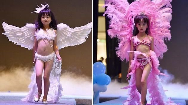Victoria's Secret phien ban nhi tai Trung Quoc gay phan no hinh anh 1
