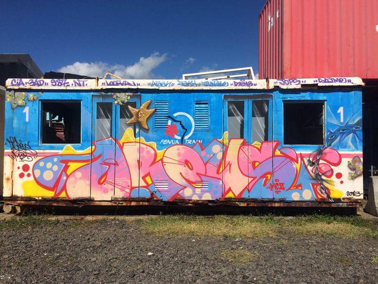 Anh: Nhung tac pham graffiti an tuong tren cac toa tau khap the gioi hinh anh 8