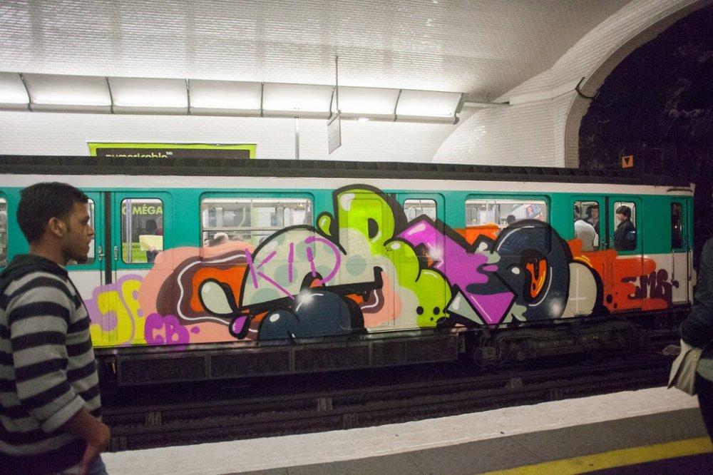 Anh: Nhung tac pham graffiti an tuong tren cac toa tau khap the gioi hinh anh 3