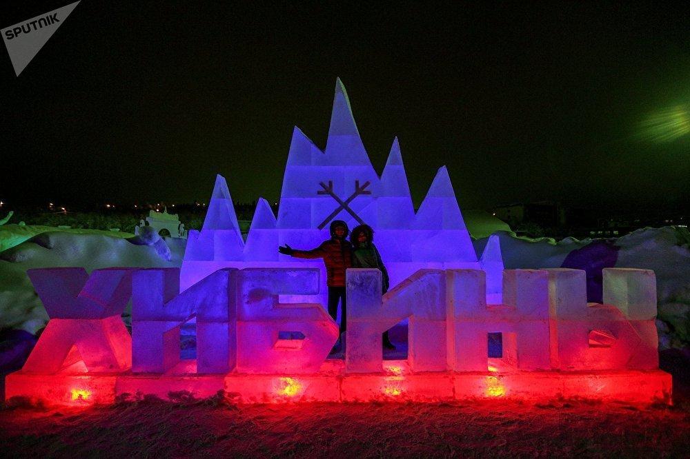 Cung điện băng kỳ ảo ở cực Bắc nước Nga