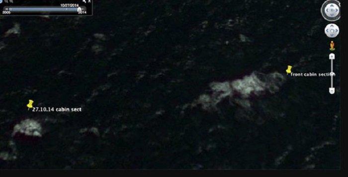 Nguoi dan ong tuyen bo tim thay may bay MH370 nho Google Map hinh anh 2