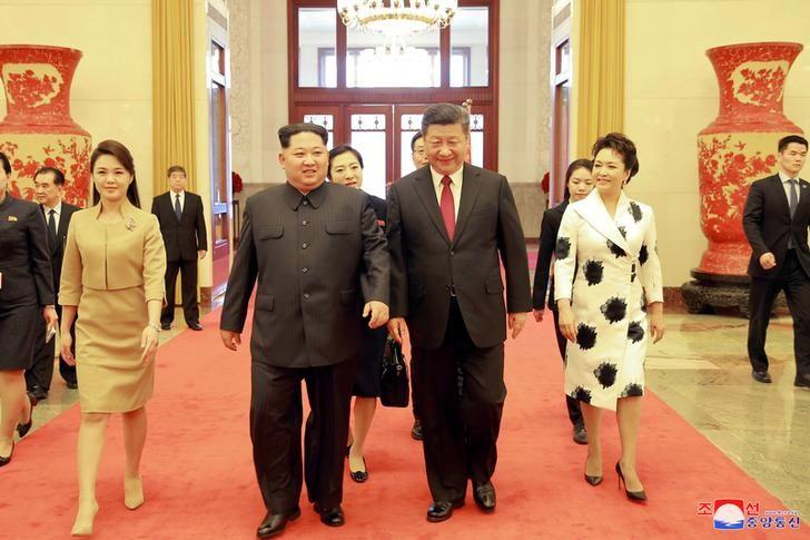 Y tuong chuyen tham cua Kim Jong-un toi Trung Quoc la cua ai? hinh anh 1