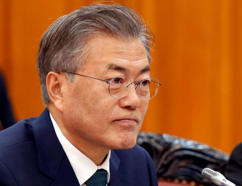 Tong thong Han Quoc noi ong Kim Jong-un muon phi hat nhan hoa hoan toan hinh anh 1