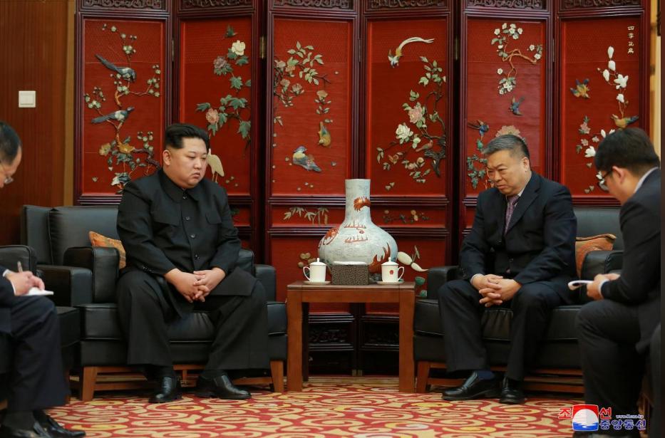 Ong Kim Jong-un tham Dai su quan Trung Quoc sau tai nan tham khoc lam 36 nguoi chet hinh anh 2