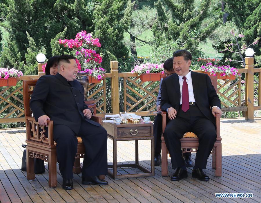 Tan Hoa Xa xac nhan ong Kim Jong-un sang Trung Quoc gap Chu tich Tap Can Binh hinh anh 1