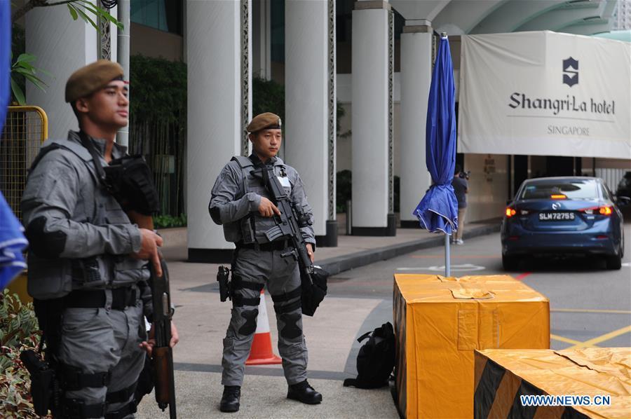 Singapore that chat an ninh, san sang chi tra cho hoi nghi thuong dinh My - Trieu hinh anh 1