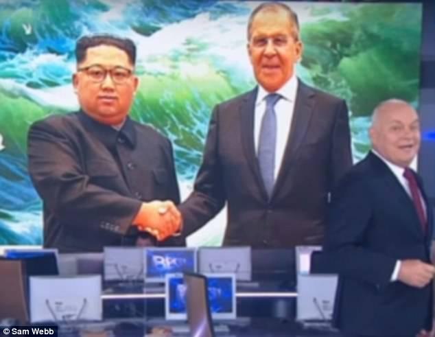 Kenh truyen hinh Nga bi to 'lam gia' nu cuoi cua lanh dao Kim Jong-un hinh anh 1