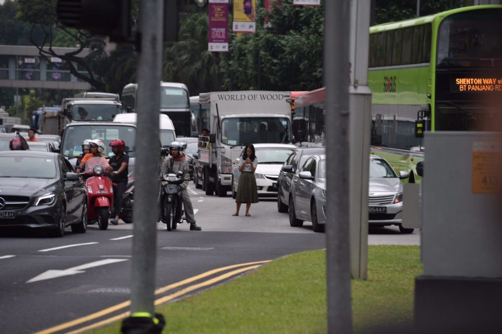 Anh: Khong khi tai Singapore 'nong' len cung Hoi nghi thuong dinh My - Trieu hinh anh 3