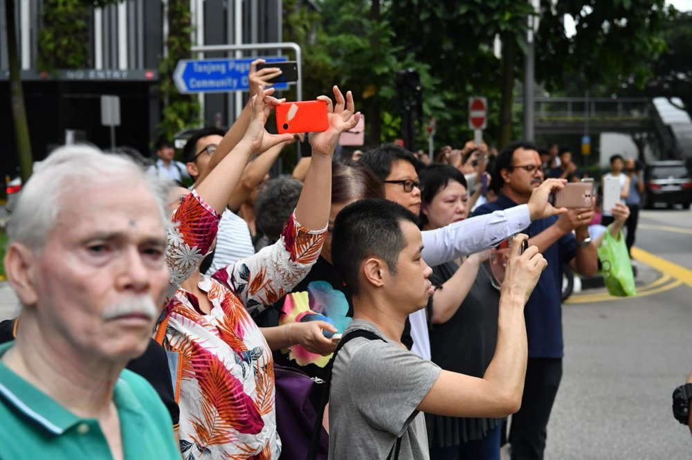 Anh: Khong khi tai Singapore 'nong' len cung Hoi nghi thuong dinh My - Trieu hinh anh 4