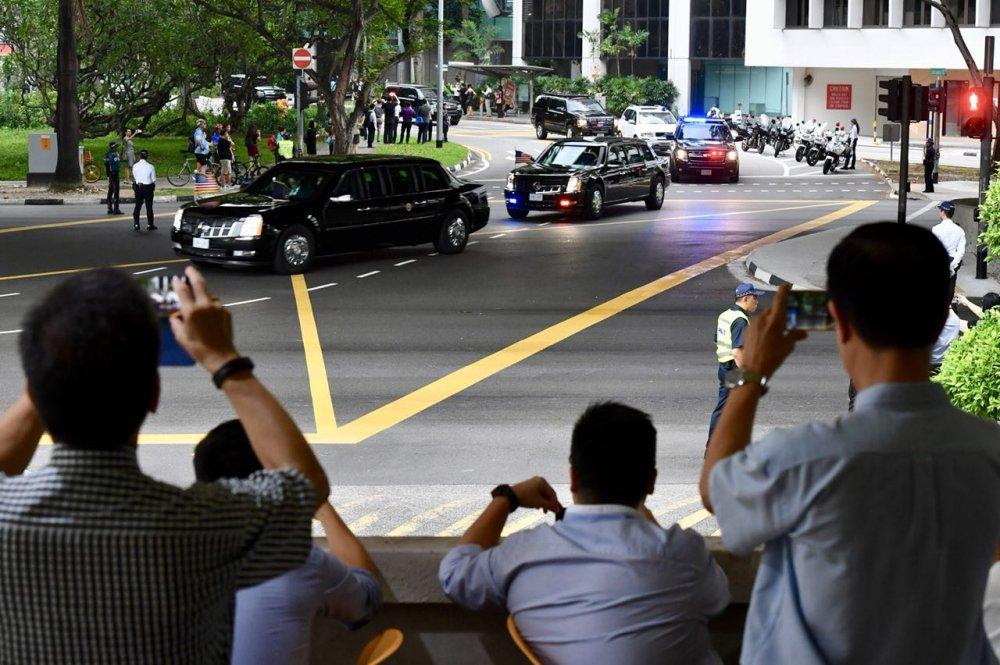 Anh: Khong khi tai Singapore 'nong' len cung Hoi nghi thuong dinh My - Trieu hinh anh 5