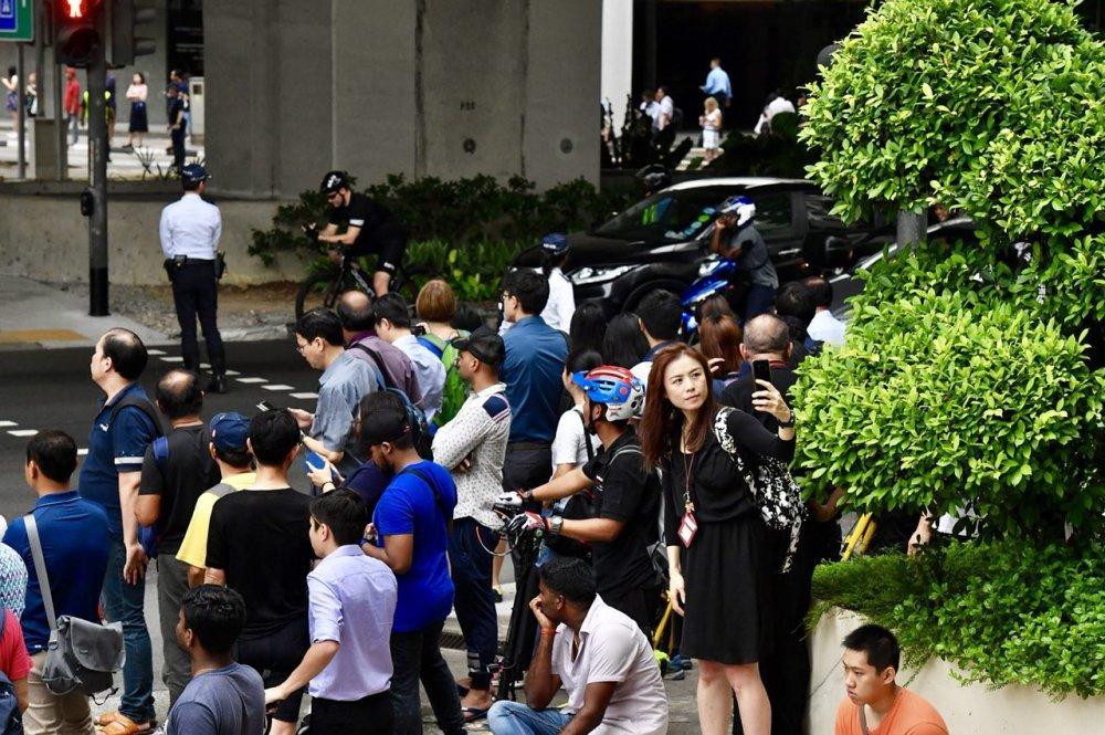 Anh: Khong khi tai Singapore 'nong' len cung Hoi nghi thuong dinh My - Trieu hinh anh 6
