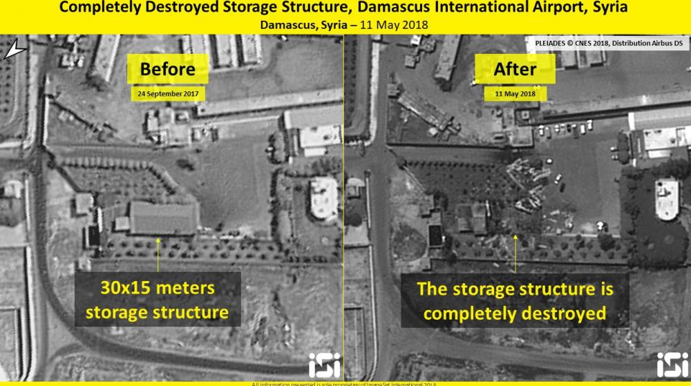 Israel doi bom khong kich thu do Damascus cua Syria hinh anh 2