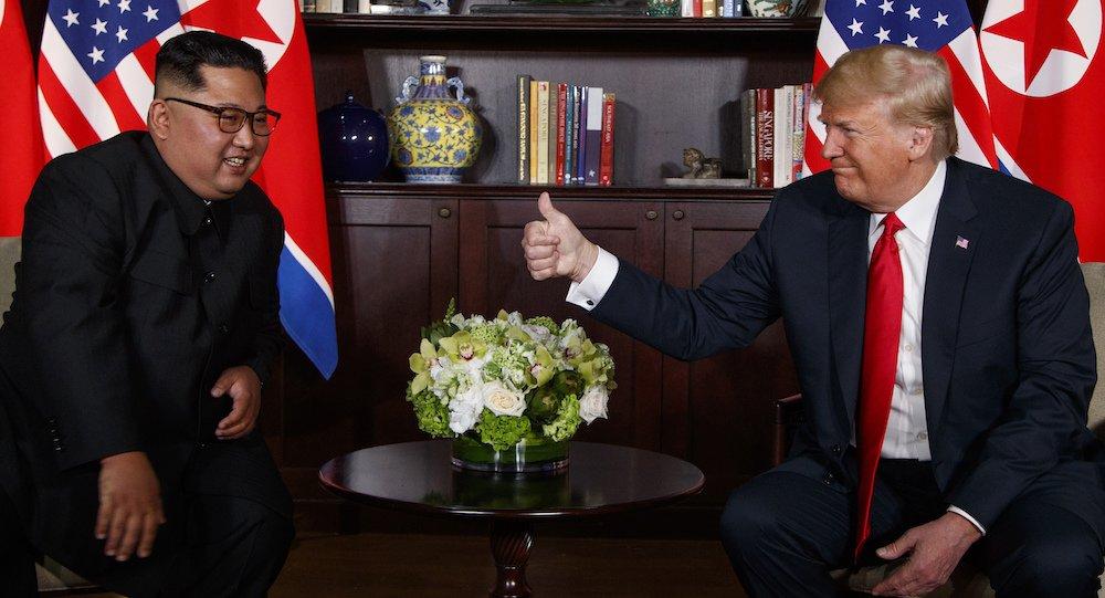 Ong Trump an tuong voi tam nhin cua ong Kim Jong-un ve tuong lai Trieu Tien hinh anh 1