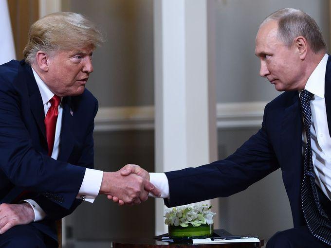 Tong thong Putin: Nuoc Nga chua bao gio va se khong bao gio can thiep noi bo nuoc My hinh anh 1