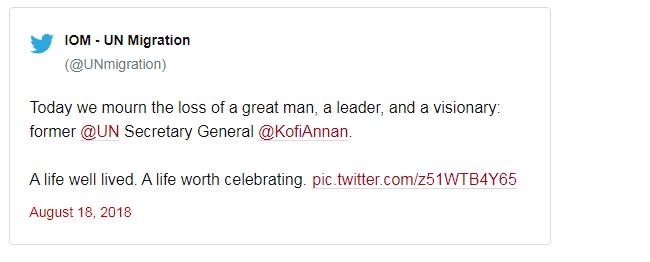 Kofi Annan - nha lanh dao da mau lam nen su 'thay da doi thit' cua Lien Hop Quoc hinh anh 1