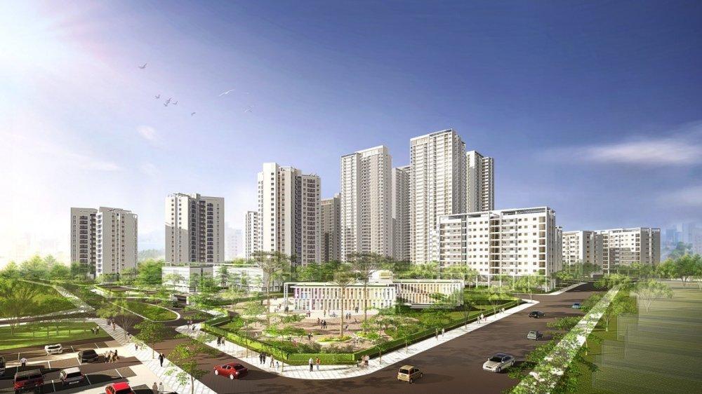 'Soi' tien ich tai Khu do thi sinh thai Hong Ha Eco City hinh anh 1