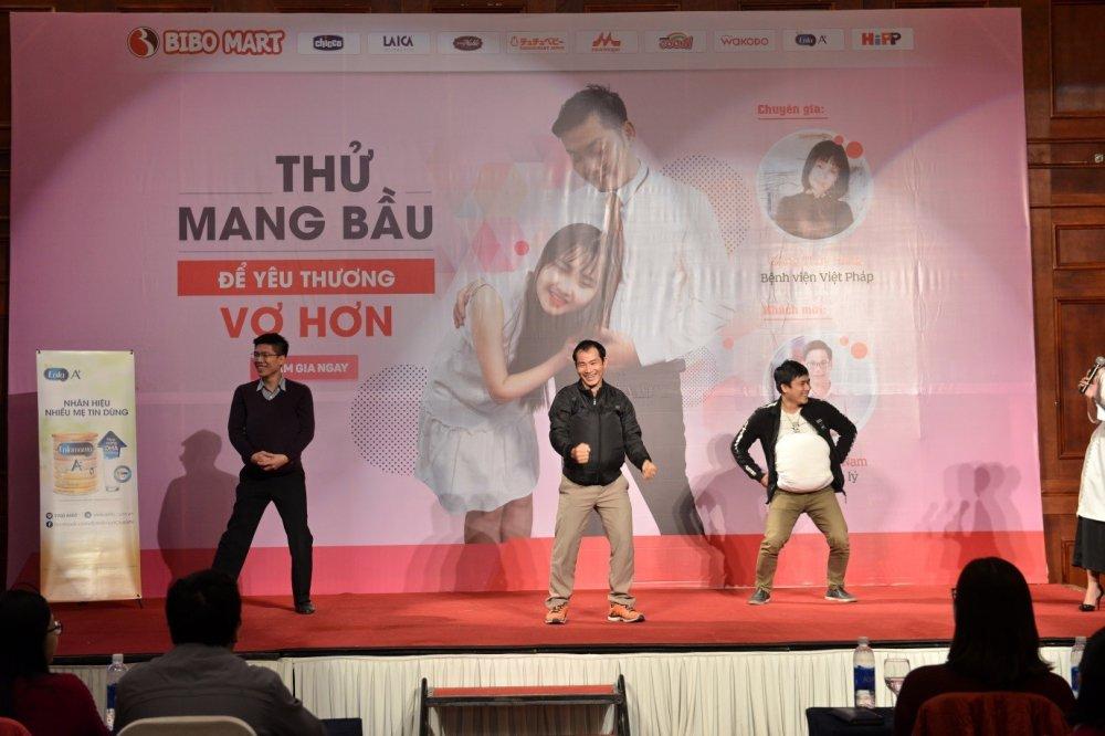 Bibo Mart thu thach cac ong bo… thu mang bau hinh anh 2