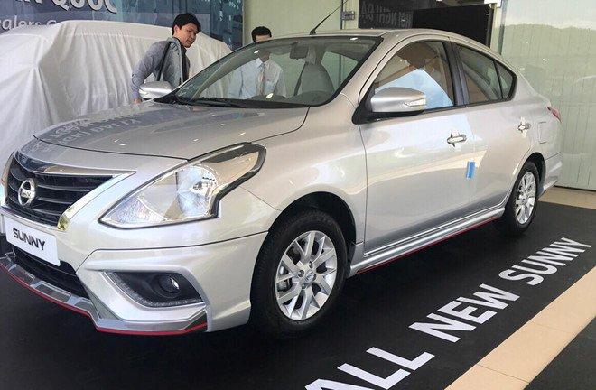 Xe sedan Nissan Sunny 2019 thiet ke moi, gia tu 12.360 USD hinh anh 1