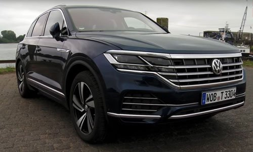 Volkswagen Touareg 2019 dau tien ve Viet Nam hinh anh 1
