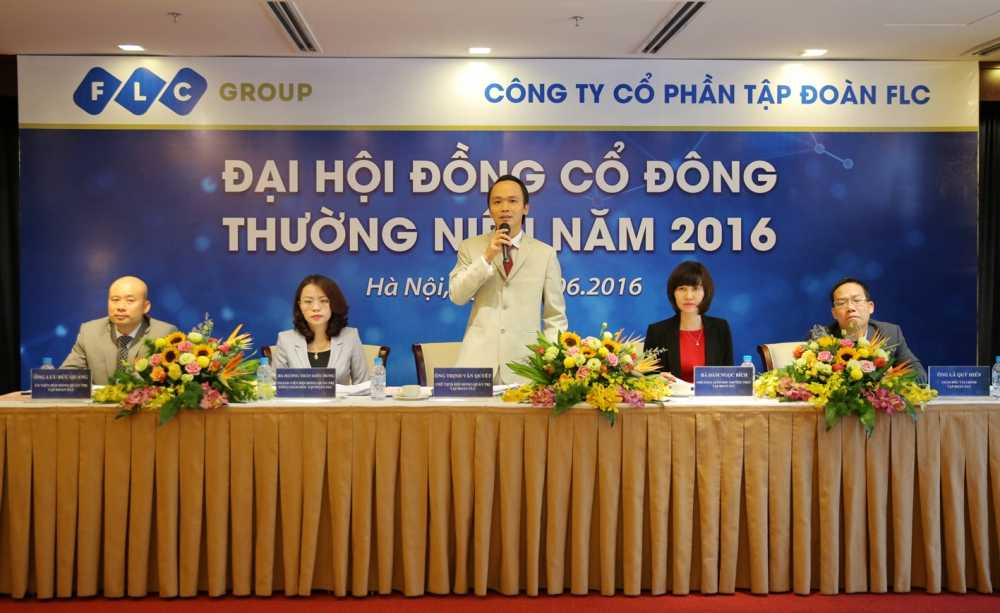 FLC Group uoc dat 500 ty dong loi nhuan quy II/2016 hinh anh 1