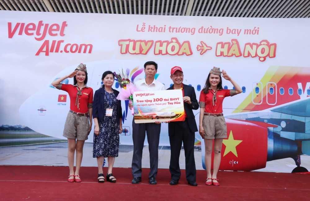 Vietjet khai truong duong bay tu Ha Noi den Tuy Hoa (Phu Yen) hinh anh 6