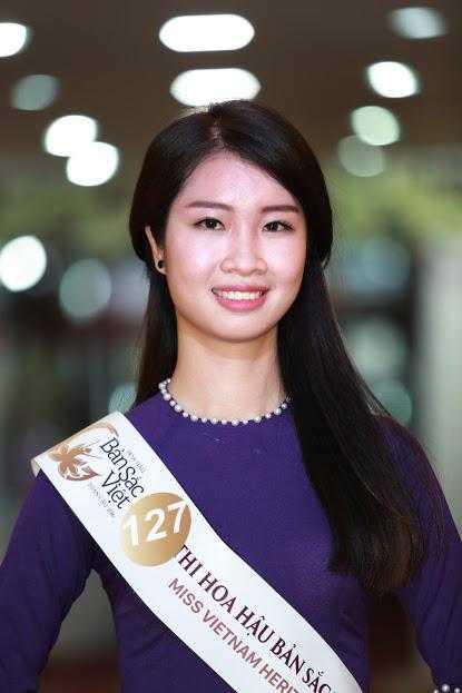 Cac nguoi dep rang ro tai casting Hoa hau Ban sac Viet toan cau Ha Long, Hai Phong hinh anh 9