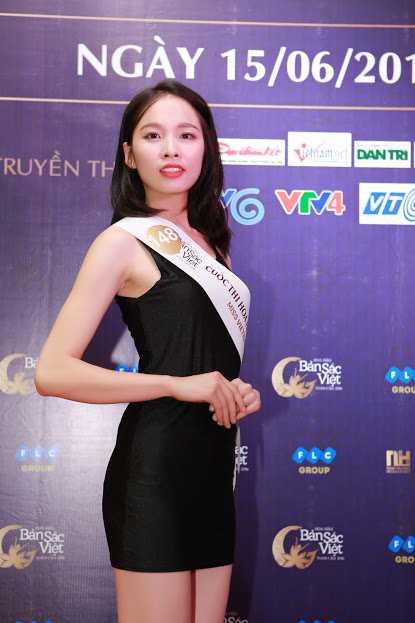 Cac nguoi dep rang ro tai casting Hoa hau Ban sac Viet toan cau Ha Long, Hai Phong hinh anh 10
