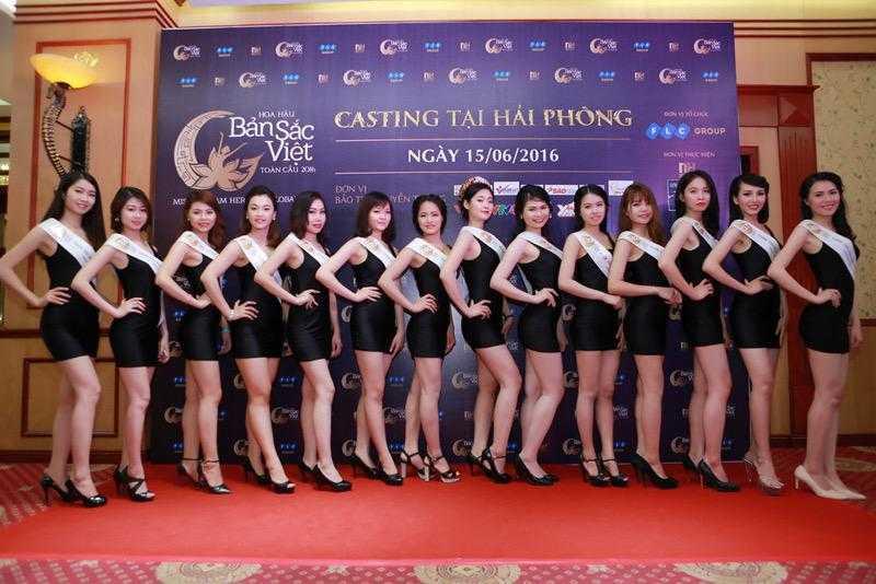 Cac nguoi dep rang ro tai casting Hoa hau Ban sac Viet toan cau Ha Long, Hai Phong hinh anh 12