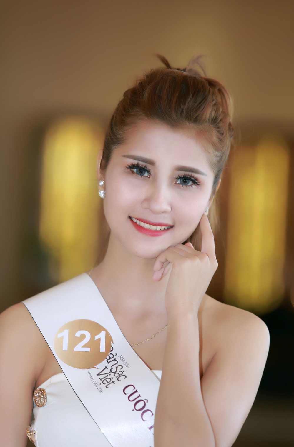 Cac nguoi dep rang ro tai casting Hoa hau Ban sac Viet toan cau Ha Long, Hai Phong hinh anh 3