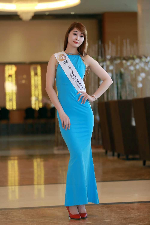 Cac nguoi dep rang ro tai casting Hoa hau Ban sac Viet toan cau Ha Long, Hai Phong hinh anh 4