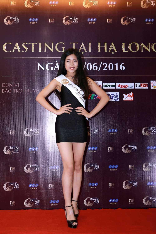Cac nguoi dep rang ro tai casting Hoa hau Ban sac Viet toan cau Ha Long, Hai Phong hinh anh 5