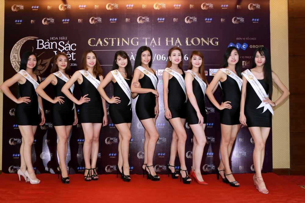 Cac nguoi dep rang ro tai casting Hoa hau Ban sac Viet toan cau Ha Long, Hai Phong hinh anh 6