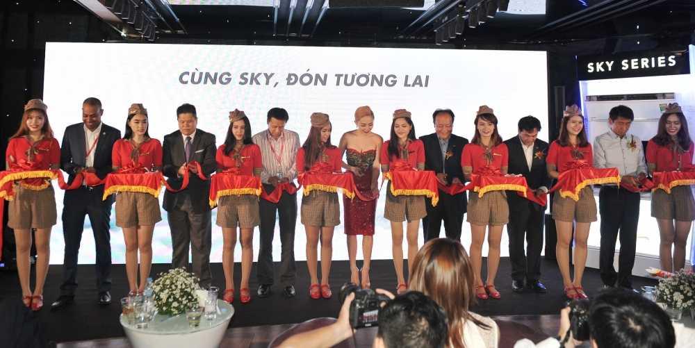 SKY Series cua Panasonic cat canh cung may bay Vietjet hinh anh 2
