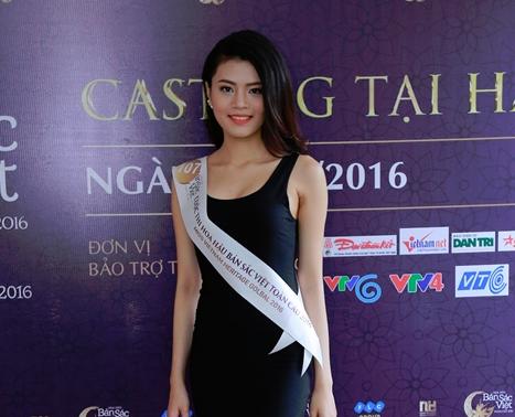 Lo dien cac thi sinh lot vao ban ket mien Bac Hoa hau ban sac Viet toan cau 2016 hinh anh 4