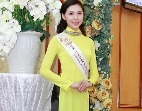 Lo dien cac thi sinh lot vao ban ket mien Bac Hoa hau ban sac Viet toan cau 2016 hinh anh 1