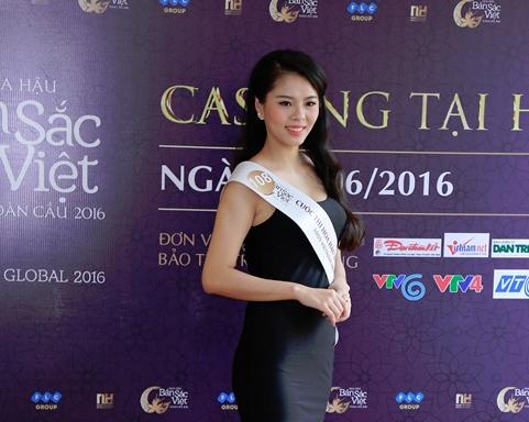 Lo dien cac thi sinh lot vao ban ket mien Bac Hoa hau ban sac Viet toan cau 2016 hinh anh 5