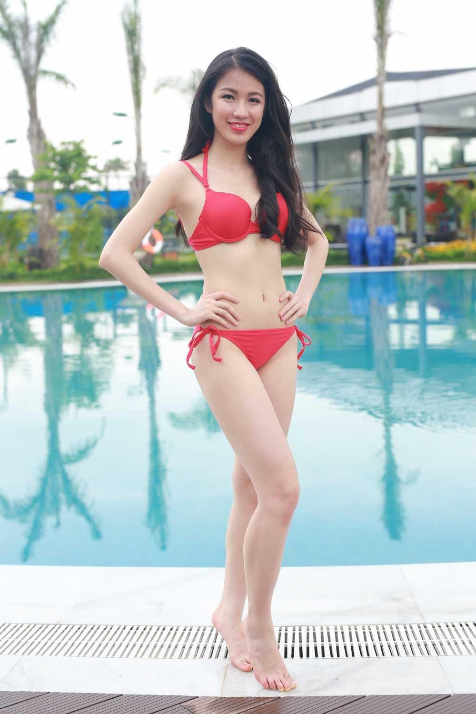 Ban sao Diep Lam Anh: 'Toi tu tin lot top 5 Hoa hau Ban sac Viet toan cau' hinh anh 5