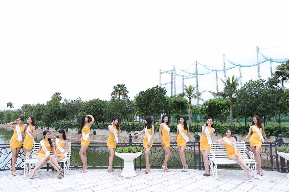 Ban sao Diep Lam Anh: 'Toi tu tin lot top 5 Hoa hau Ban sac Viet toan cau' hinh anh 6