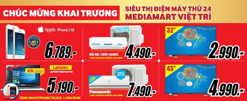 Mediamart khai truong dai sieu thi hien dai bac nhat tai Viet Tri hinh anh 4