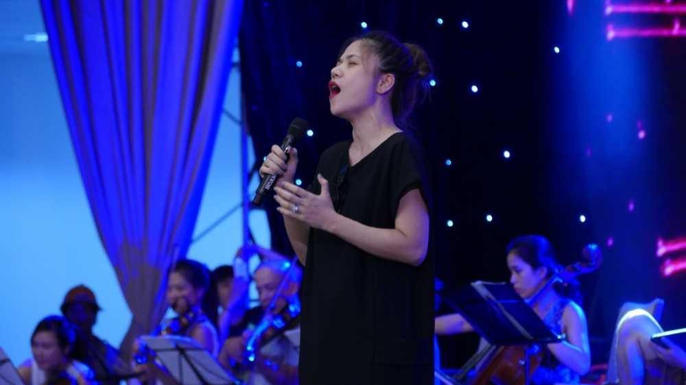Thanh Lam, Tung Duong dien 'cay den' tai tong duyet 'Chuyen tinh cua Bien' hinh anh 3