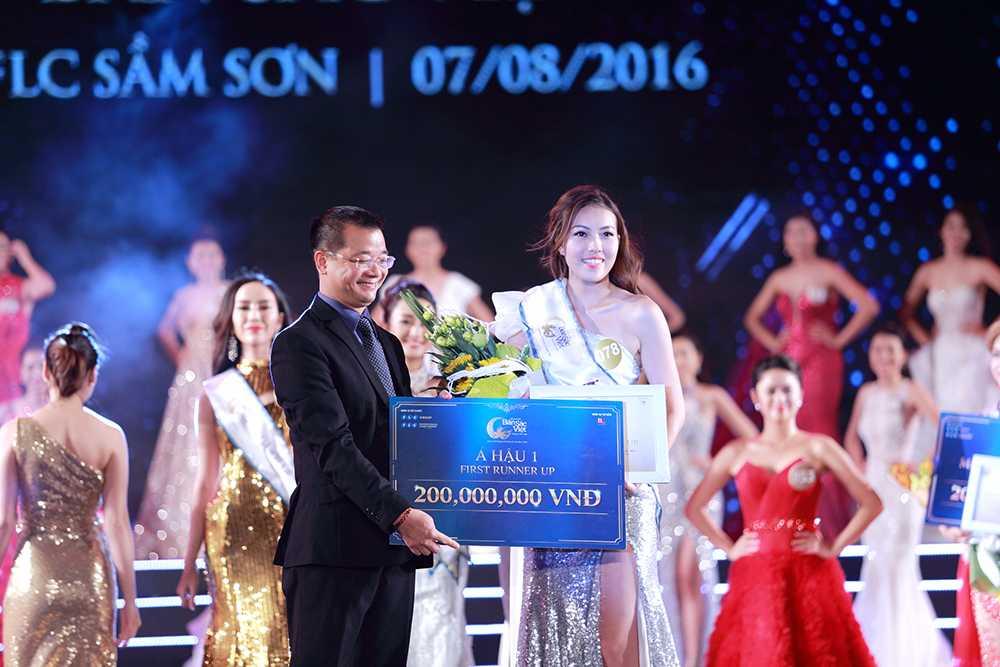 Nguoi dep Tran Thi Thu Ngan dang quang Hoa hau ban sac Viet toan cau 2016 hinh anh 5