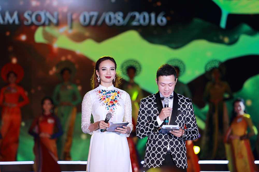Nguoi dep Tran Thi Thu Ngan dang quang Hoa hau ban sac Viet toan cau 2016 hinh anh 11