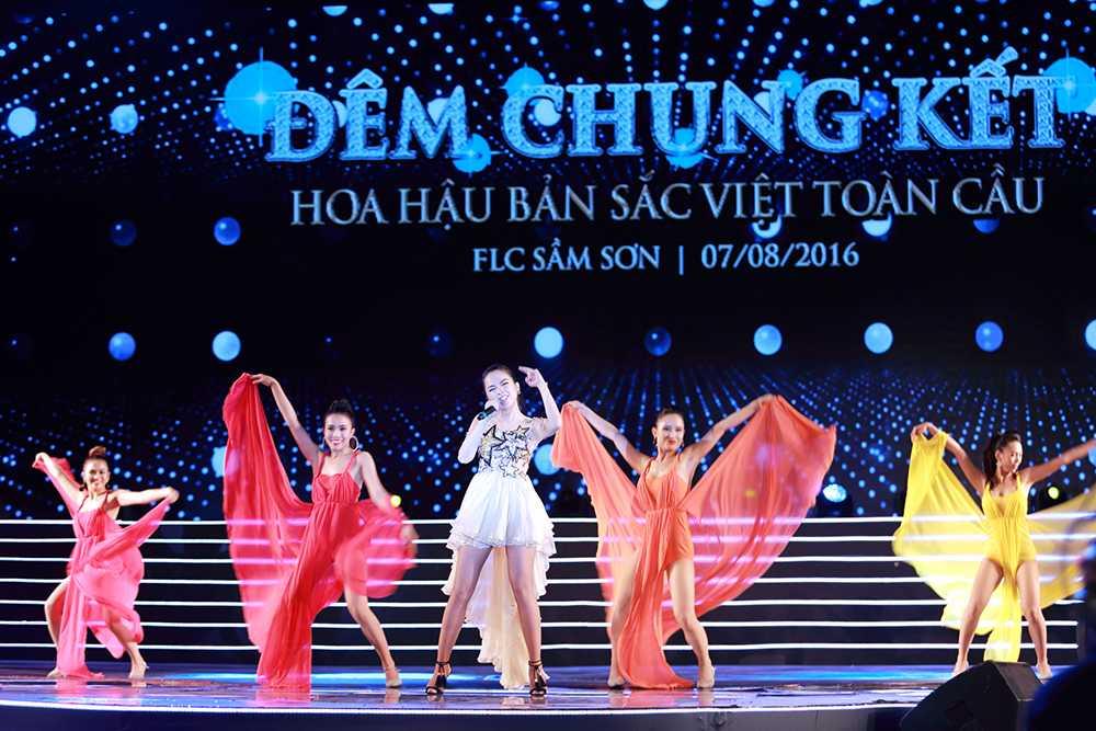 Nguoi dep Tran Thi Thu Ngan dang quang Hoa hau ban sac Viet toan cau 2016 hinh anh 17