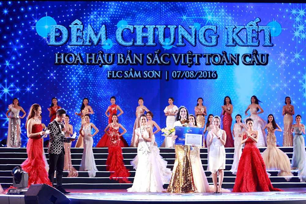 Nguoi dep Tran Thi Thu Ngan dang quang Hoa hau ban sac Viet toan cau 2016 hinh anh 7