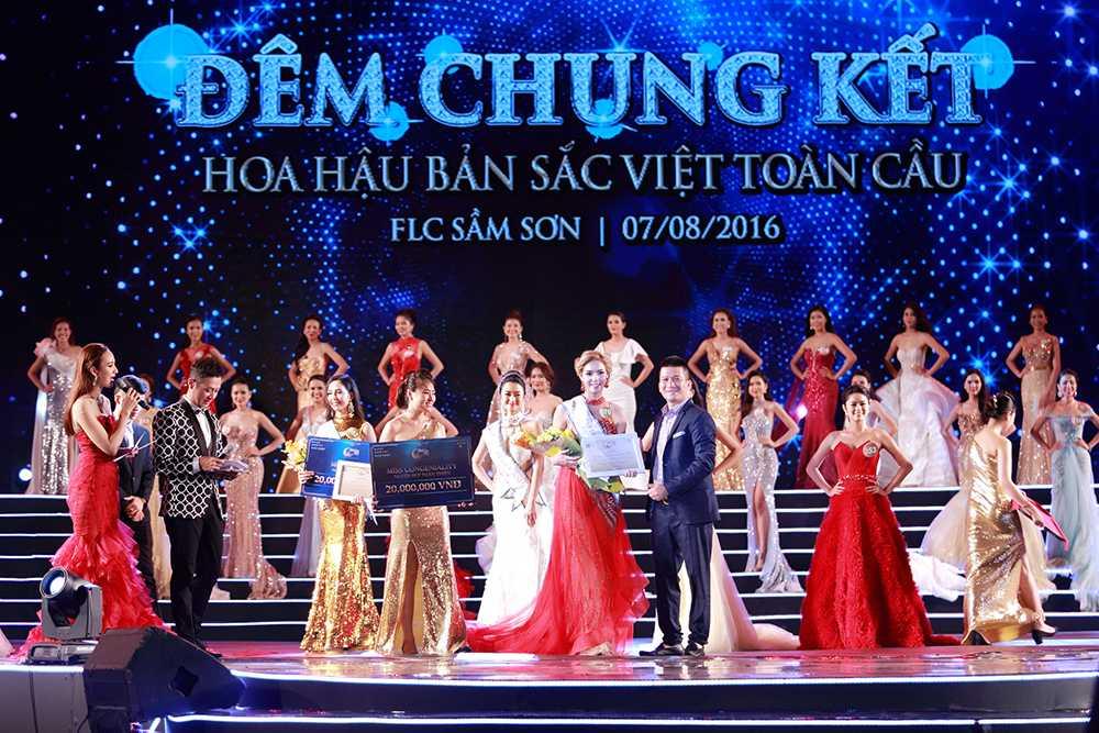 Nguoi dep Tran Thi Thu Ngan dang quang Hoa hau ban sac Viet toan cau 2016 hinh anh 9